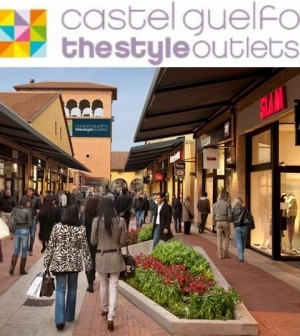 Castel Guelfo, the style outlet