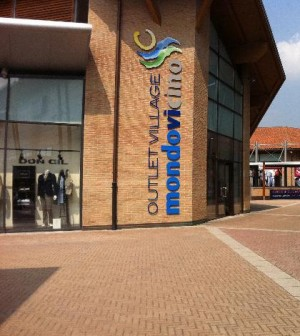 Mondovicino Outlet Village, Rilassatevi di shoppinging outlet